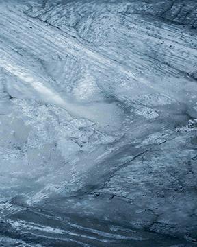 Glacial 20x30 sur aluminium brossé 72dpi